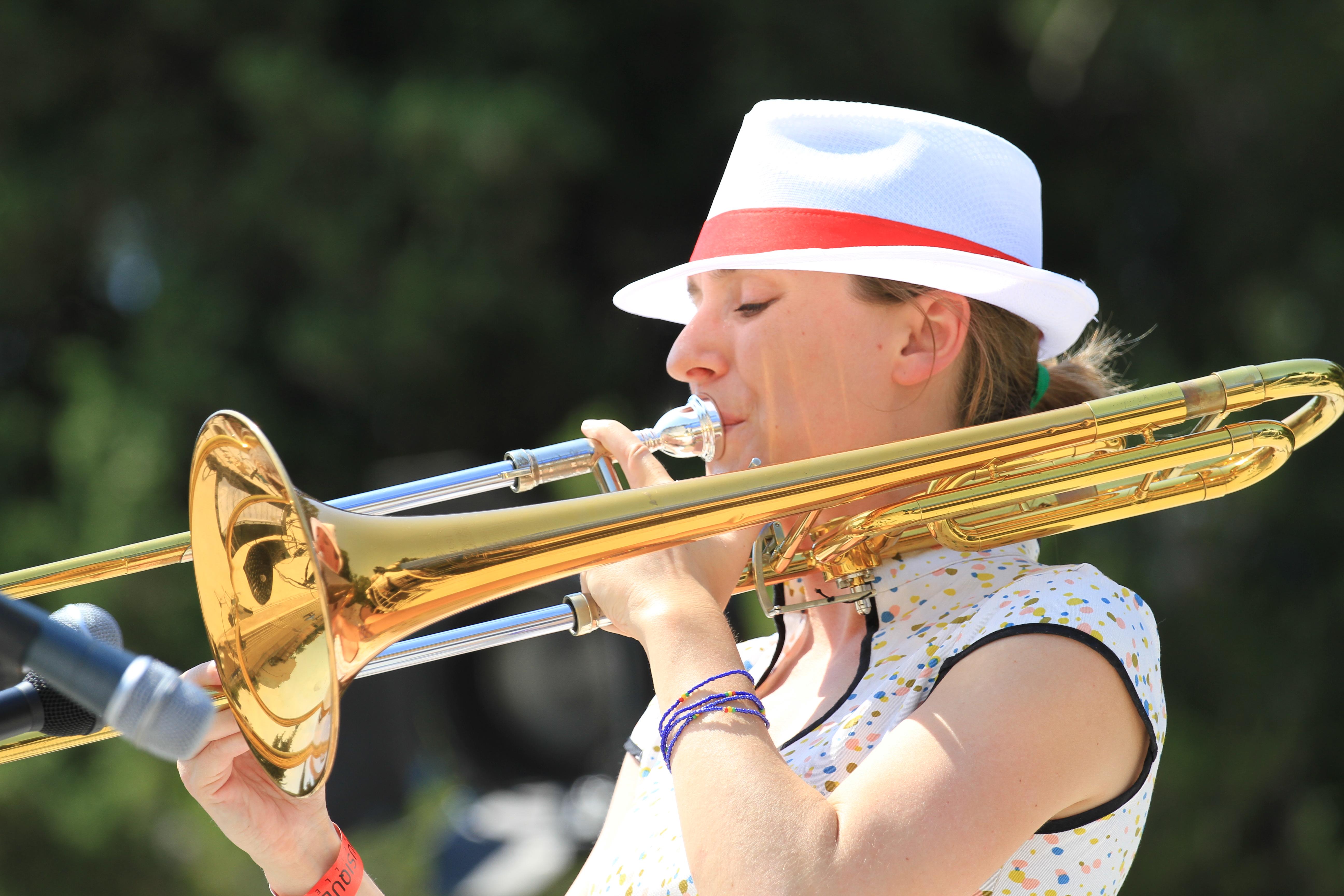 Trombone - Crédit Flory Bonnaffoux