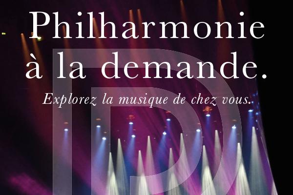 Philharmonie à la demande