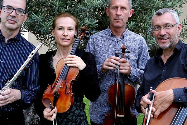 Trio à cordes et flûte - Crédit Morgane Fouret
