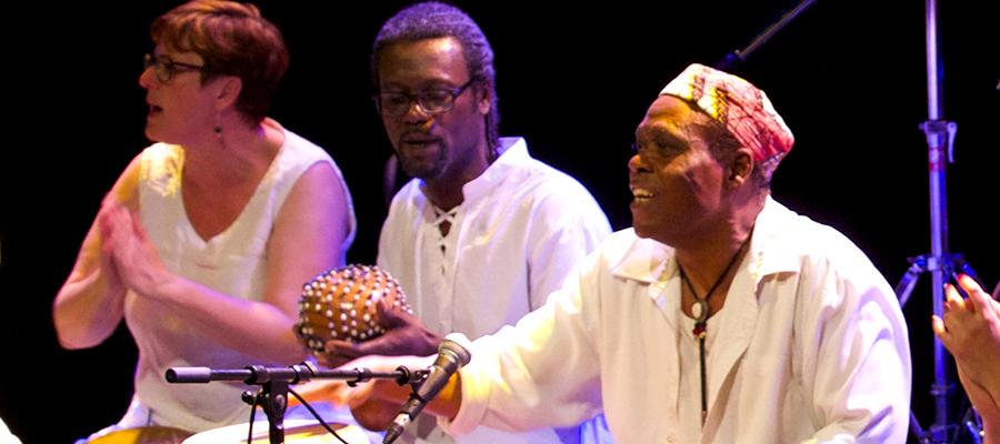Stage de percussions et chants du Bénin - Boukout Festival